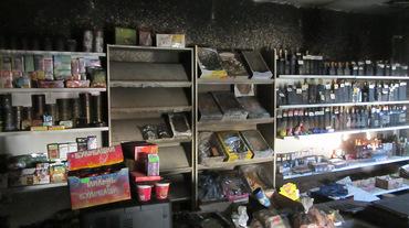 На Николаевщине горел магазин, - ФОТО, фото-1