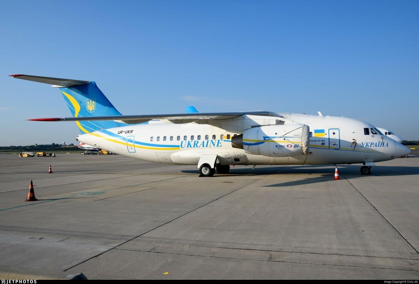Президентский борт Ан-148
