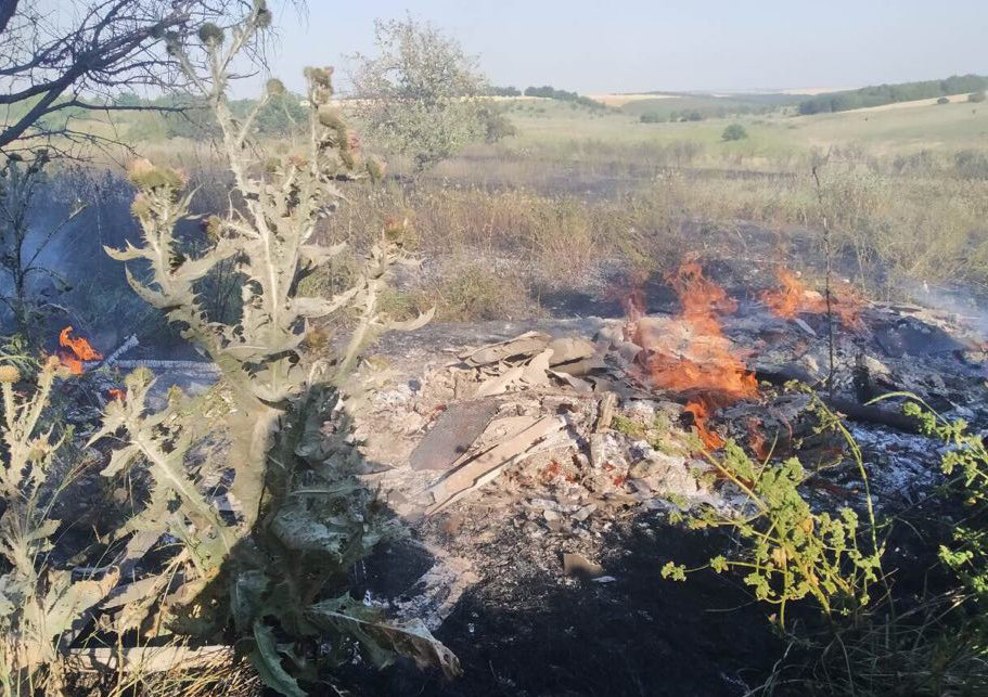 На территории Николаевщины спасатели продолжают тушить пожары сухостоя, - ФОТО, фото-11
