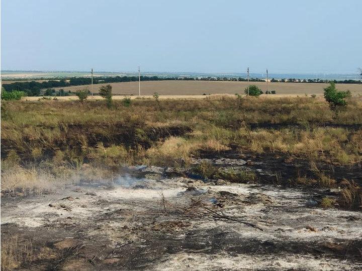 Спасатели Николаевщины ликвидировали 19 пожаров на открытых территориях, - ФОТО, фото-2