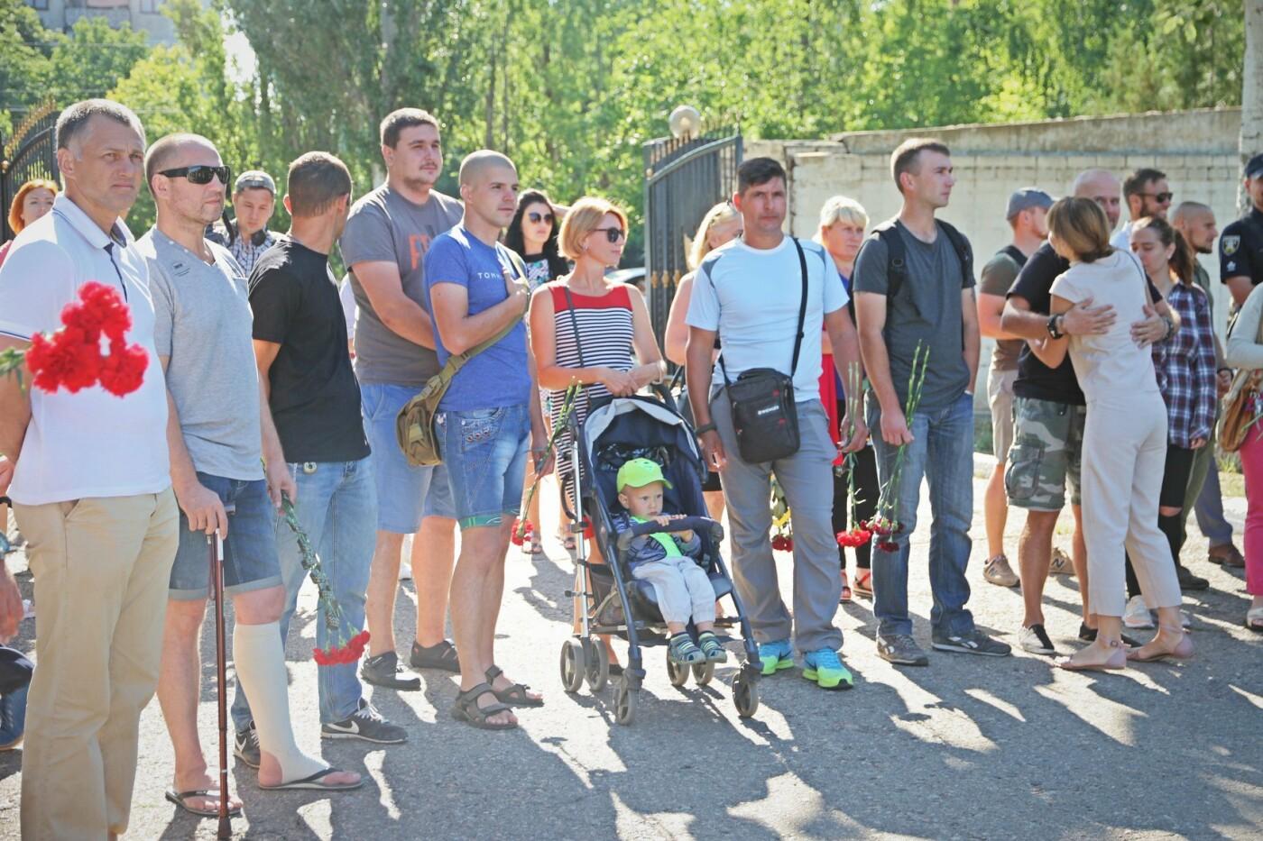 Николаевцы почтили память военнослужащих, погибших у Зеленополья, - ФОТО, фото-6
