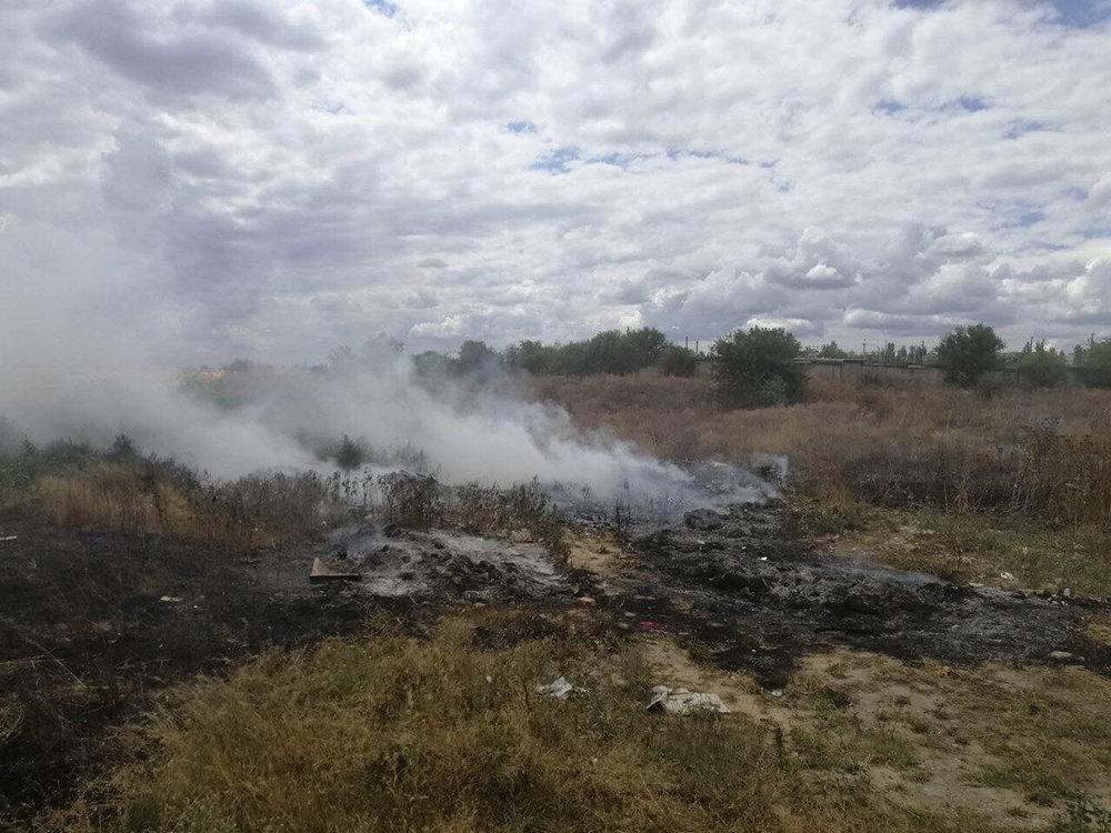 На Николаевщине выгорело более 15 га сухостоя и питательных остатков, - ФОТО, фото-4
