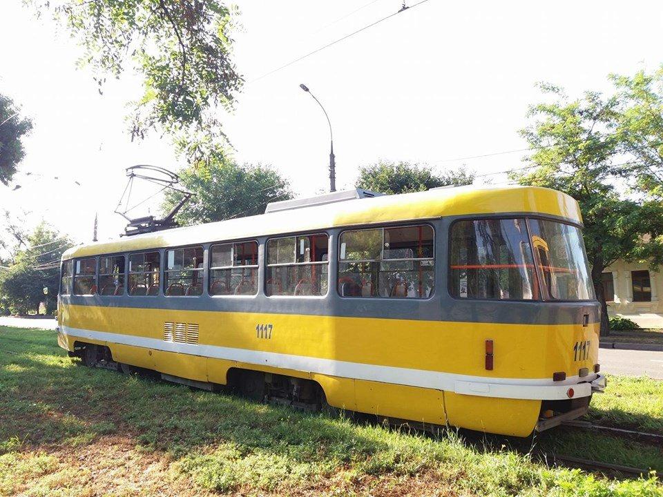 В Николаеве трамвай сошел с рейсов, - ФОТО, фото-1