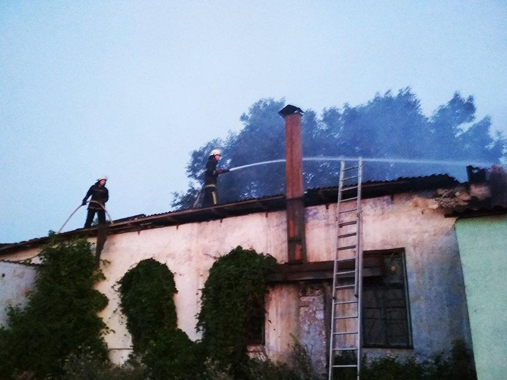 На Николаевщине загорелась столовая и магазин, - ФОТО, фото-2
