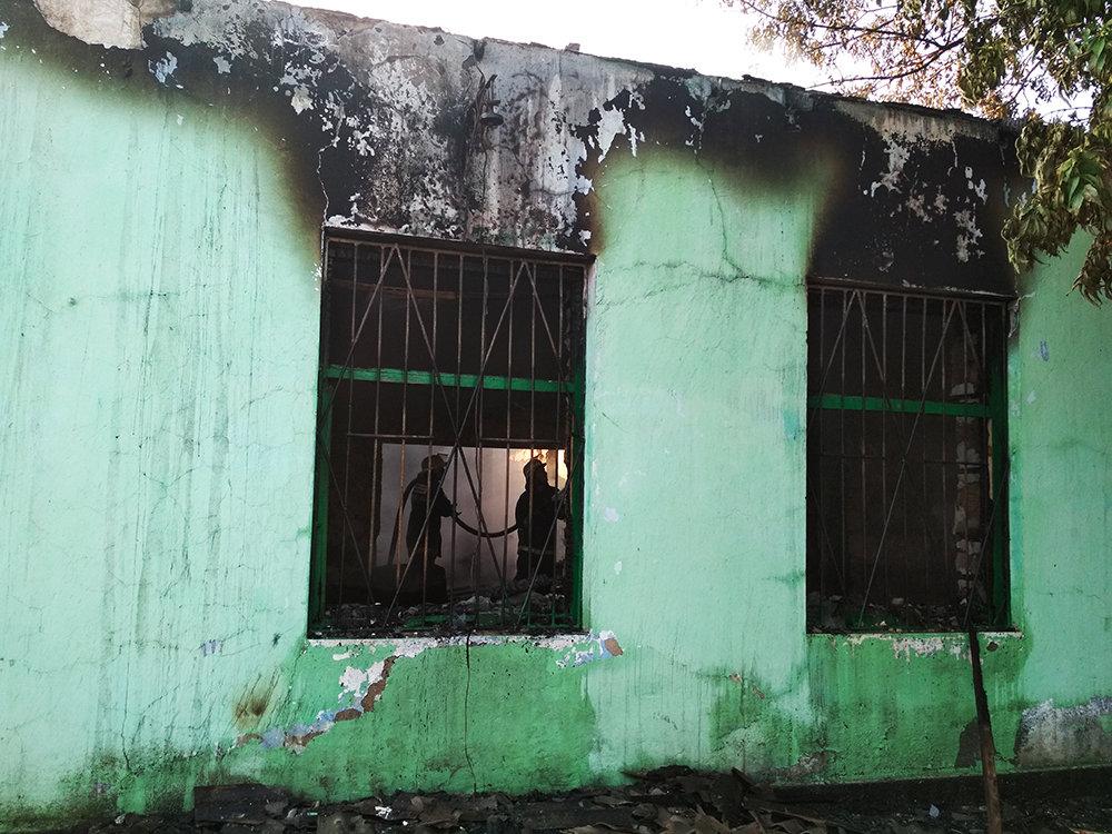 На Николаевщине загорелась столовая и магазин, - ФОТО, фото-4