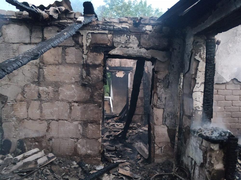 На Николаевщине из-за неосторожного курильщика загорелся дом, - ФОТО , фото-1