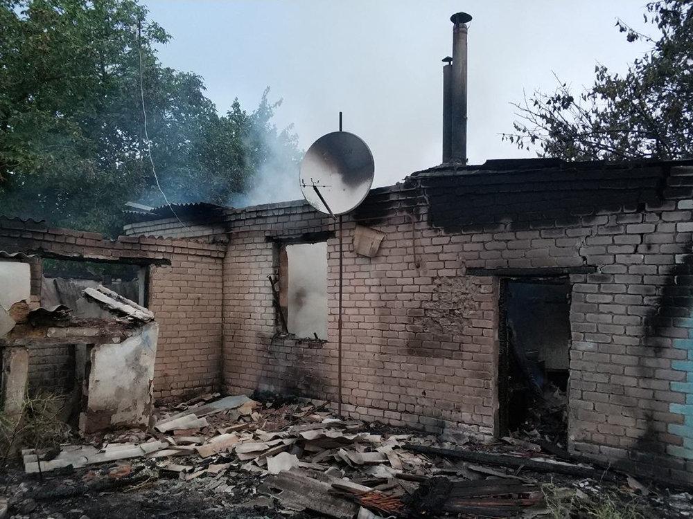 На Николаевщине из-за неосторожного курильщика загорелся дом, - ФОТО , фото-2