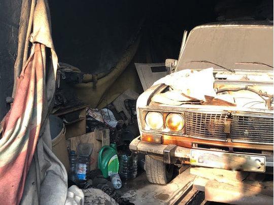 В Николаеве во время попытки потушить пожар мужчина получил ожоги, - ФОТО , фото-1