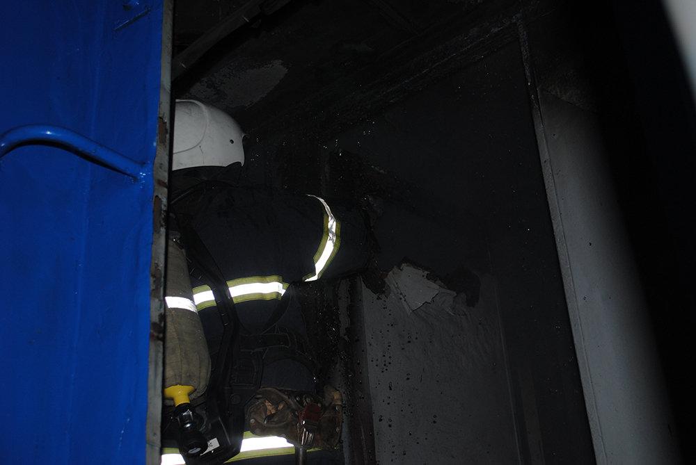 В Николаеве горел пассажирский вагон, - ФОТО, фото-1
