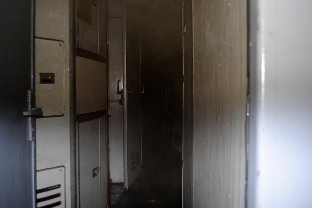 В Николаеве горел пассажирский вагон, - ФОТО, фото-3