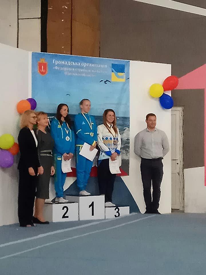 Николаевская спортсменка завоевала золото на Чемпионате Украины по прыжкам на батуте, фото-1