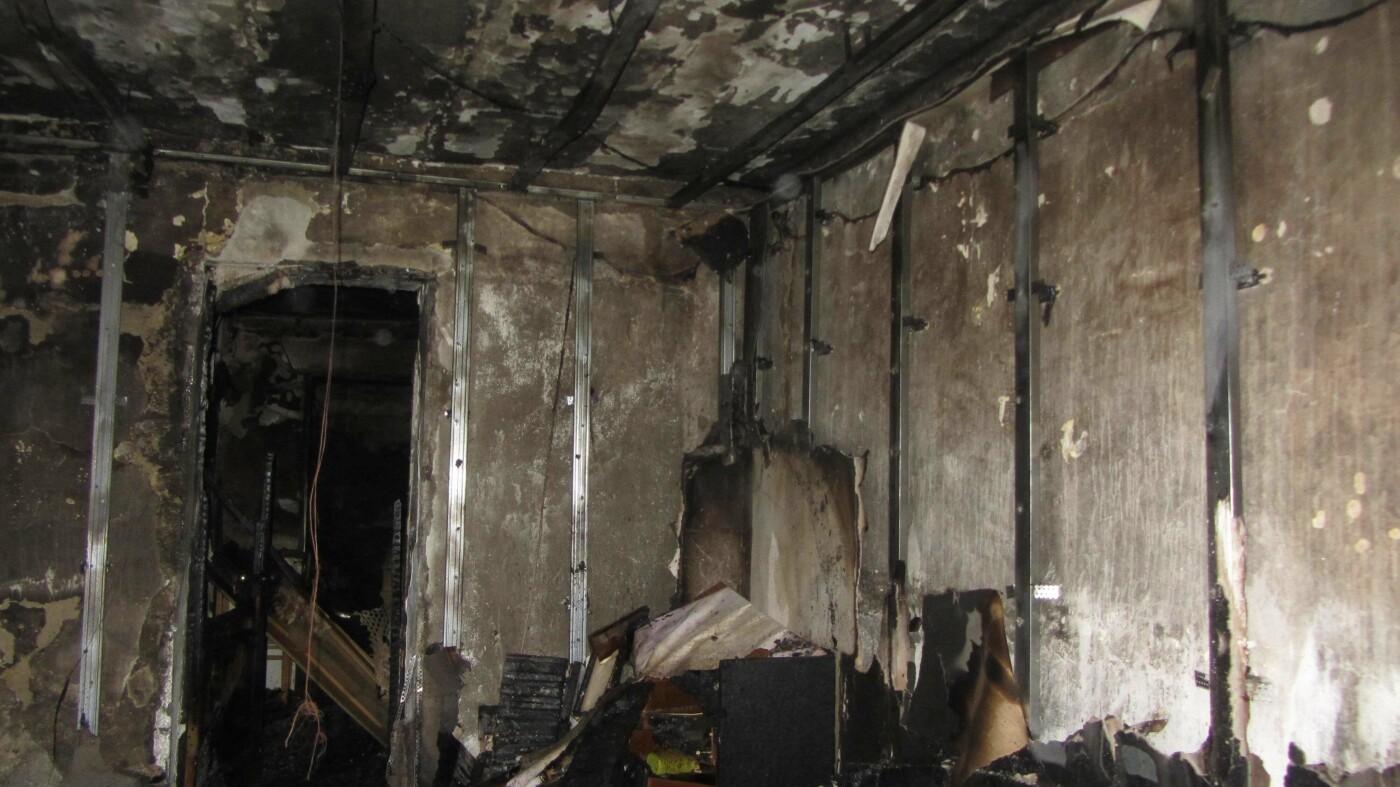 На Николаевщине горела квартира, - ФОТО , фото-1