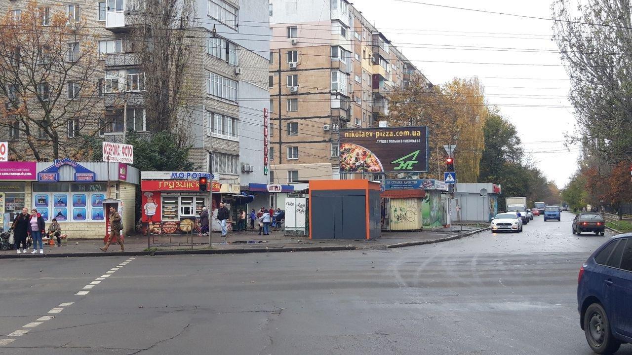 """Николаев """"расчищали"""" от ненужных киосков, - ФОТО, фото-1"""