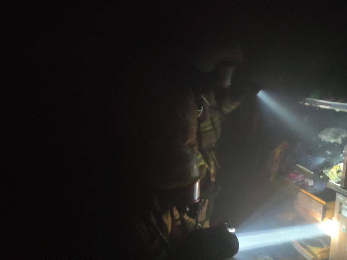 В Николаеве спасатели тужили пожар летней кухни, - ФОТО , фото-1