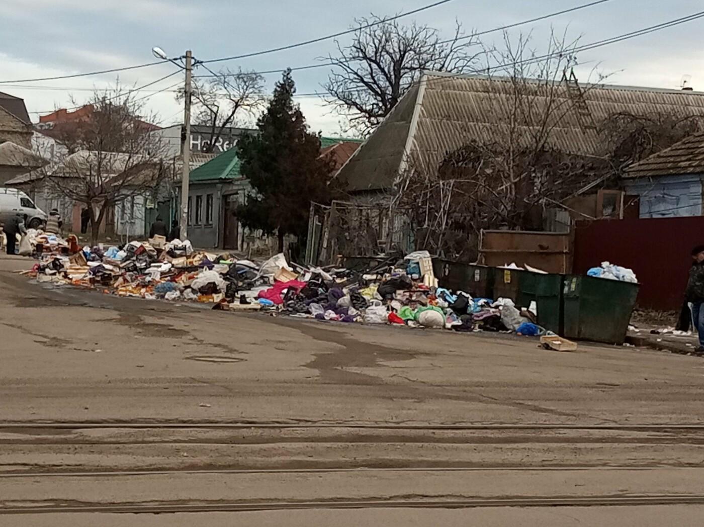 Николаевцы жалуются на стихийную свалку возле жилых домов, - ФОТО , фото-1