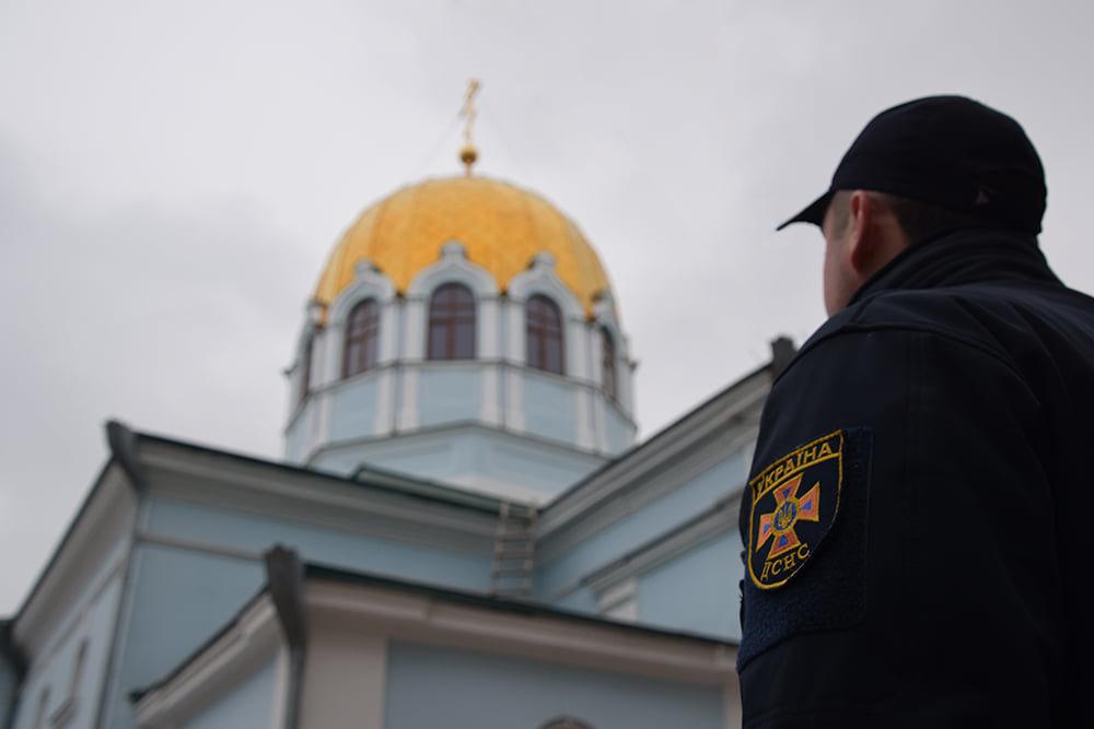 В Николаевских церквях спасатели накануне Рождества провели инструктаж, - ФОТО , фото-3