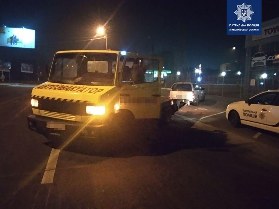 Николаевские патрульные поймали нетрезвого водителя без документов, - ФОТО, фото-1