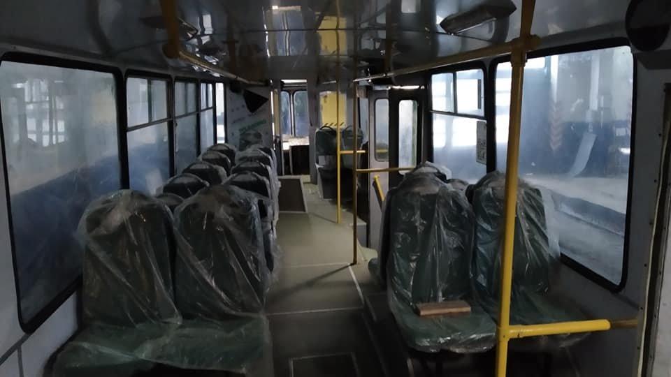 В Николаеве завершаются ремонтно-восстановительные работы  троллейбуса ЗИУ