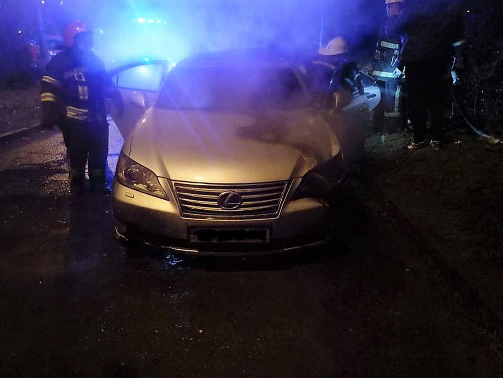 В Николаеве горел автомобиль, - ФОТО, фото-1