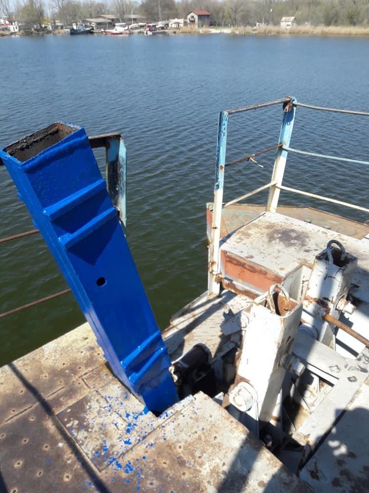 В Николаеве закончили ремонт понтонного моста, который в феврале рухнул из-за ветра, - ФОТО, фото-5