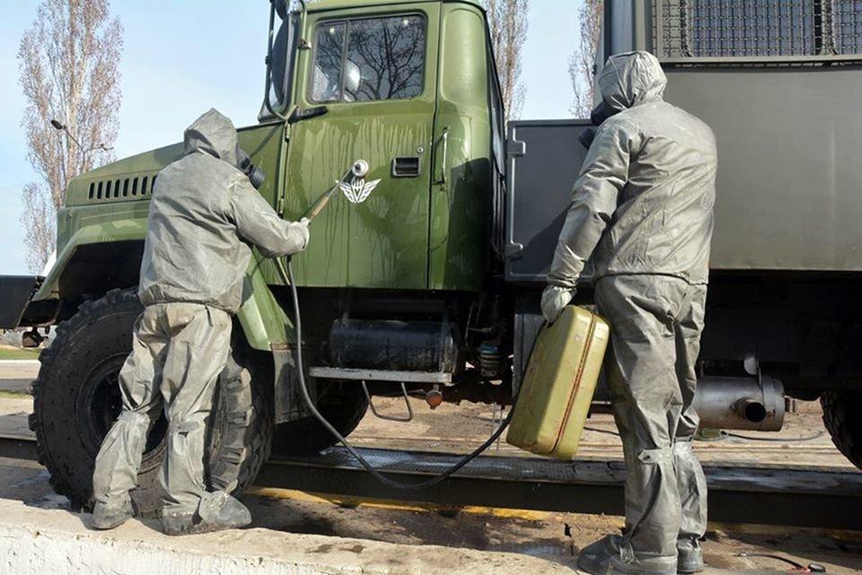Николаевские десантники показали, как противостоят коронавирусу, - ФОТО, фото-2