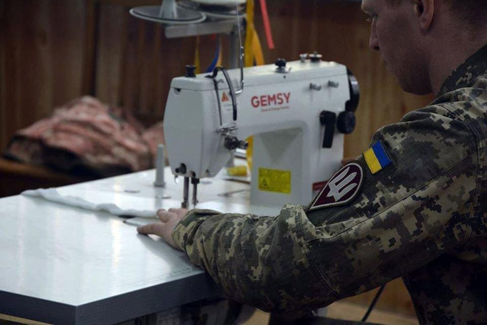 Николаевские десантники показали, как противостоят коронавирусу, - ФОТО, фото-7
