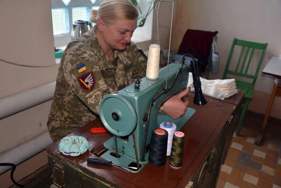 Николаевские десантники показали, как противостоят коронавирусу, - ФОТО, фото-9