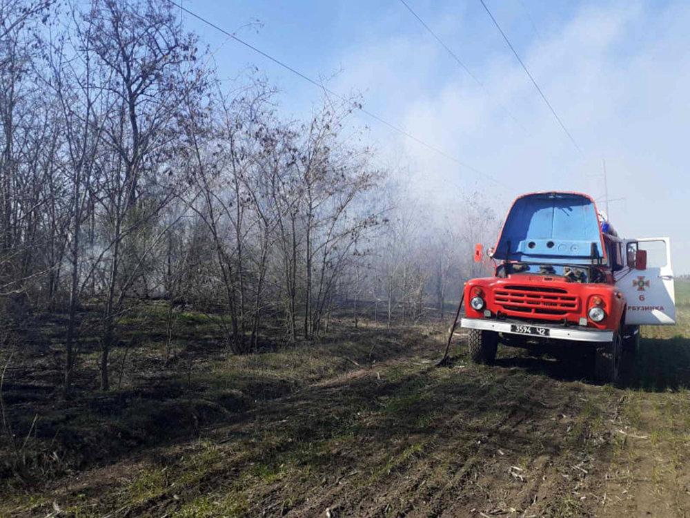 В Николаевской области за сутки семь раз загорался сухостой, - ФОТО, фото-8