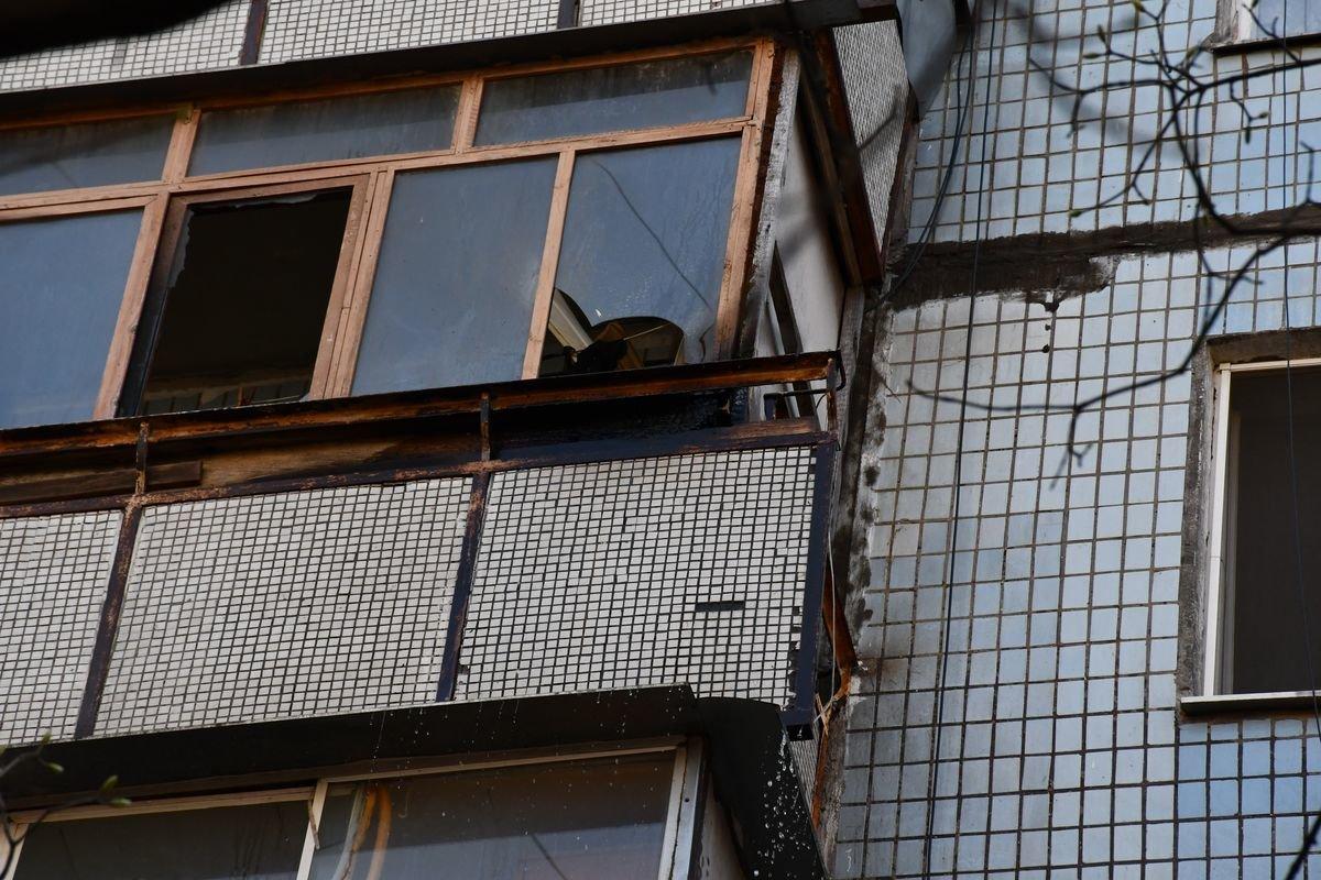 В Николаеве горел балкон квартиры в многоэтажном доме, - ФОТО, фото-1