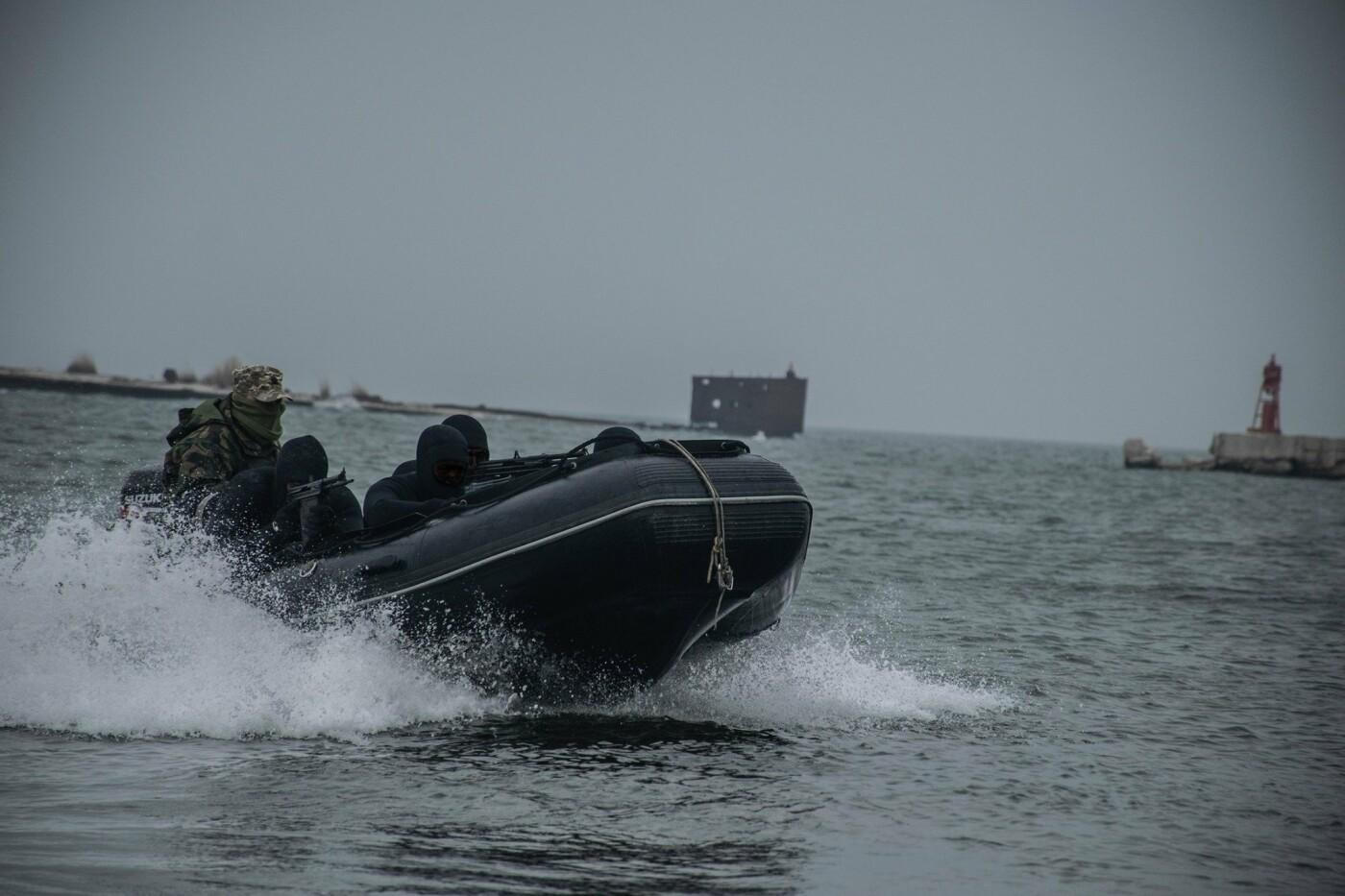 На Николаевщине водолазы-разведчики показали, как проходит их боевая подготовка, - ФОТО, фото-4