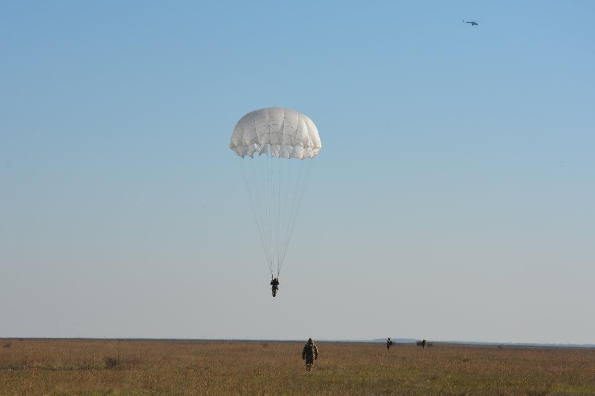 Во время карантина николаевские десантники отрабатывают прыжки с парашютом, - ФОТО, фото-4