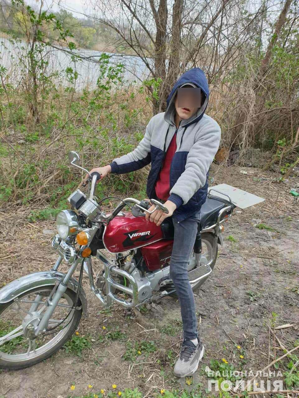 На Николаевщине парень пытался украсть мопед, но его заметили и он сбежал, - ФОТО, фото-1