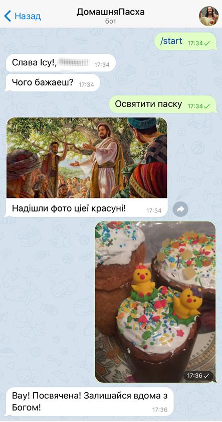 "В Николаеве появился чат - бот ""ДомашняПасха"", - ФОТО, фото-1"