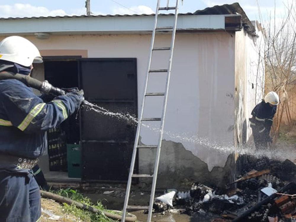 На Николаевщине трижды тушили пожары в жилом секторе, - ФОТО, фото-1