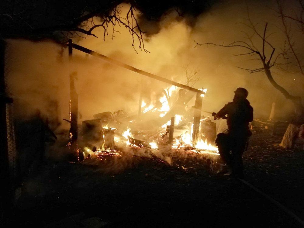 На Николаевщине в селе Мигия горело хозяйственное здание, - ФОТО, фото-3