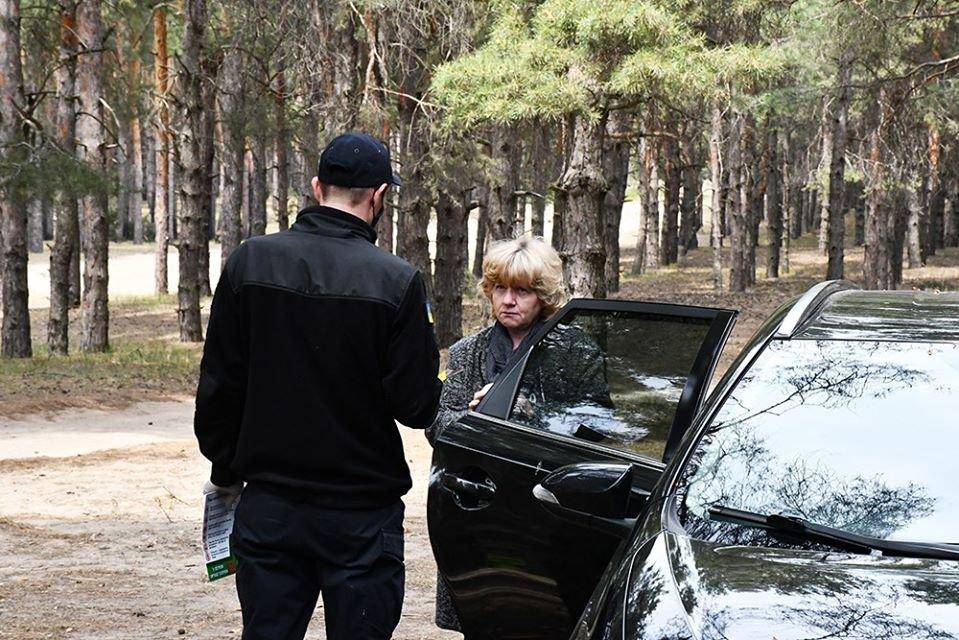 Несмотря на запрет николаевцы отдыхали в лесах, а спасатели напомнили им о пожарной безопасности, - ФОТО, фото-1