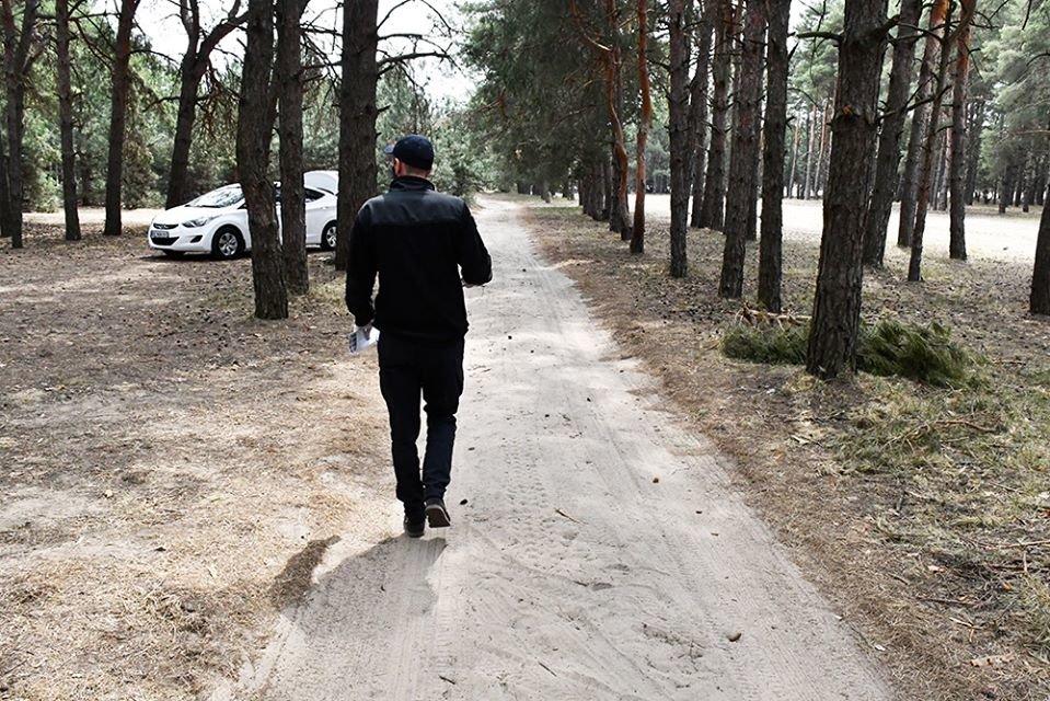 Несмотря на запрет николаевцы отдыхали в лесах, а спасатели напомнили им о пожарной безопасности, - ФОТО, фото-5