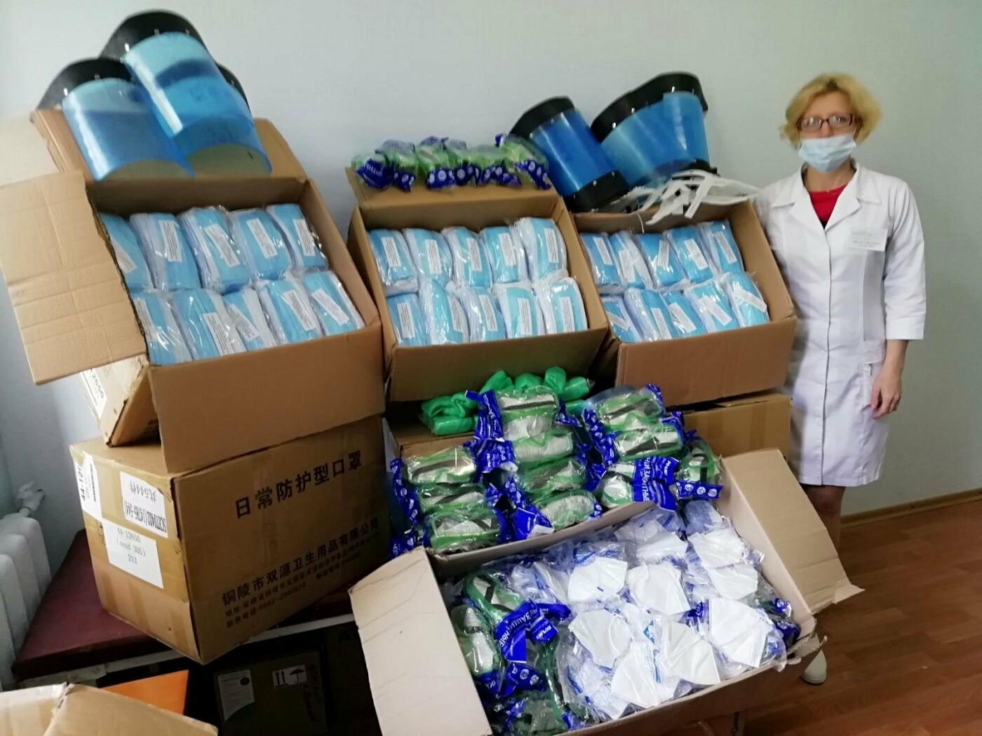 В учреждения здравоохранения города продолжают доставлять средства индивидуальной защиты, фото-1