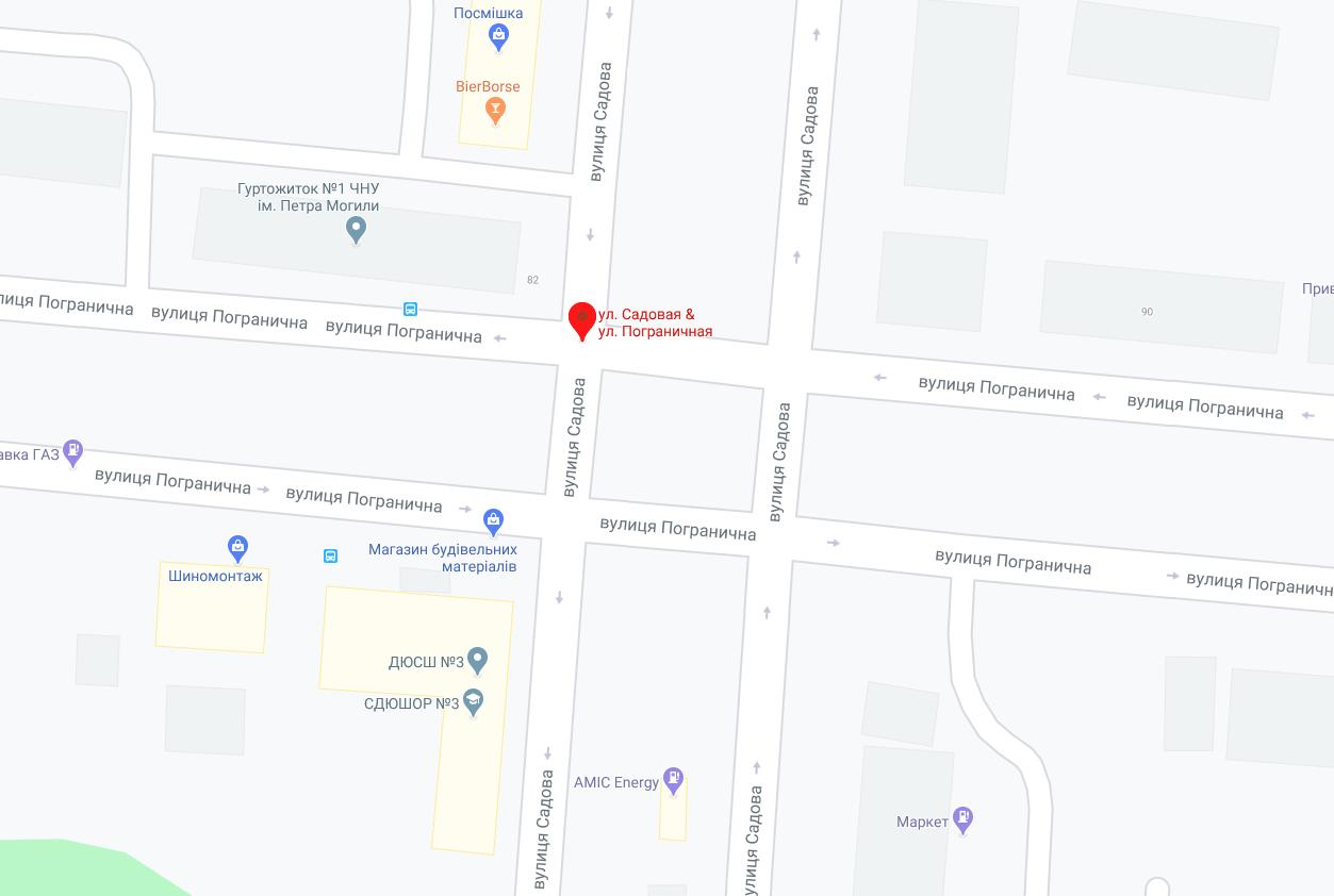 В Николаеве на месяц перекроют движение по перекрестку на Пограничной, - СХЕМА ДВИЖЕНИЯ, фото-1