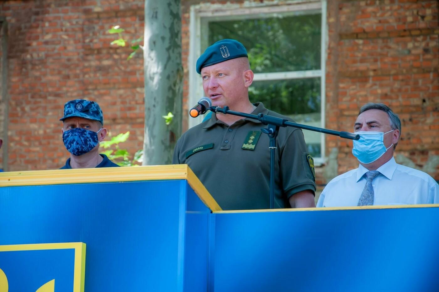 В Николаеве открыли школу морского пехотинца на базе учебного центра ВМФ, фото-1