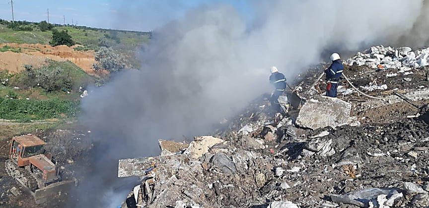 В Николаеве горела стихийная свалка, - ФОТО, фото-10