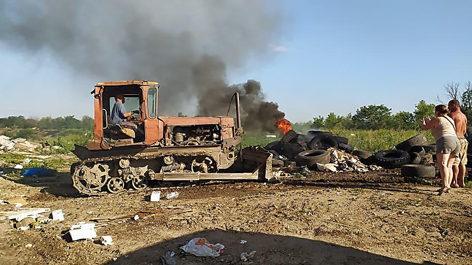 В Николаеве горела стихийная свалка, - ФОТО, фото-7