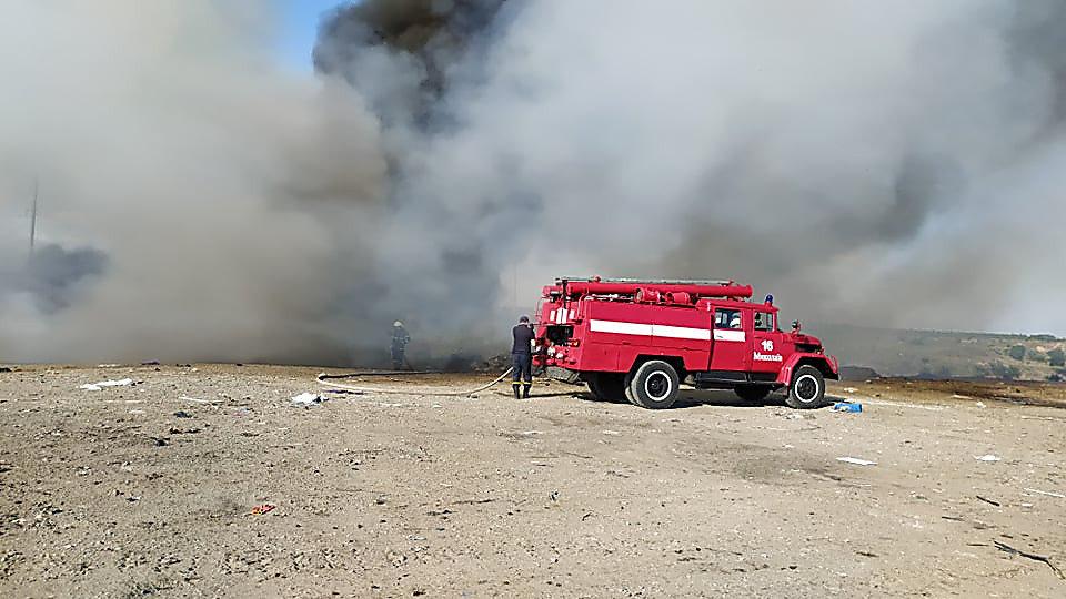 В Николаеве горела стихийная свалка, - ФОТО, фото-5