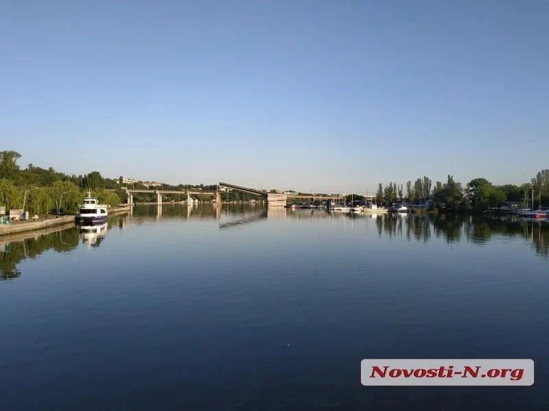 В Николаеве самопроизвольно развелся Ингульский мост, фото-2