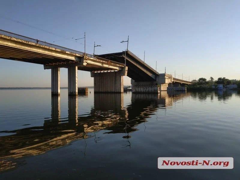 В Николаеве самопроизвольно развелся Ингульский мост, фото-3