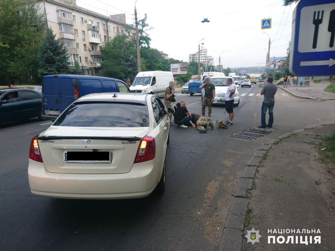В Николаеве в ДТП пострадал военнослужащий, фото-1