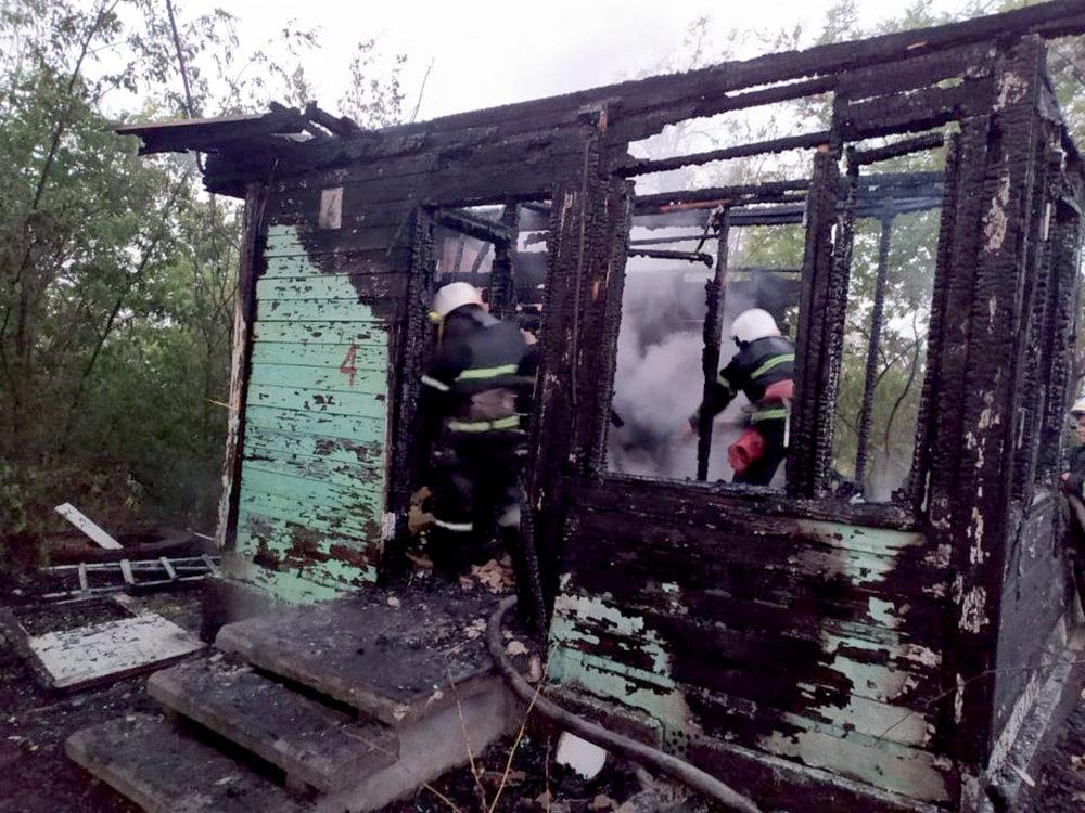 На Николаевщине горела неработающая база отдыха: подозревают поджог, - ФОТО, фото-3