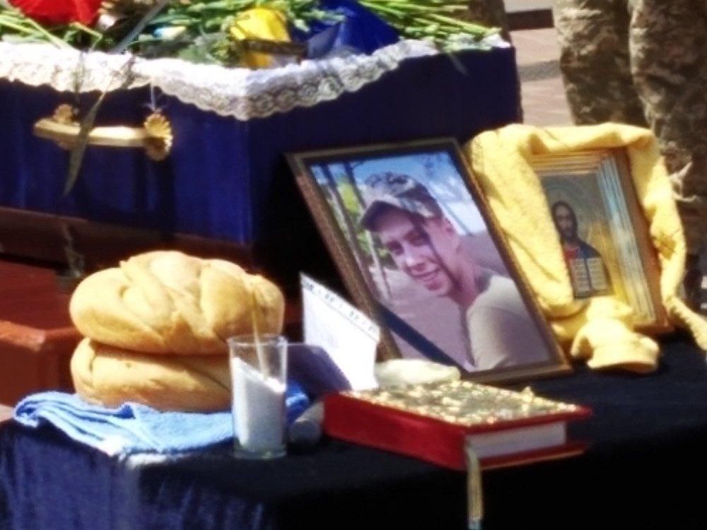 На Николаевщине простились с 18-летнем бойцом, который погиб на Донбассе, - ФОТО, фото-11