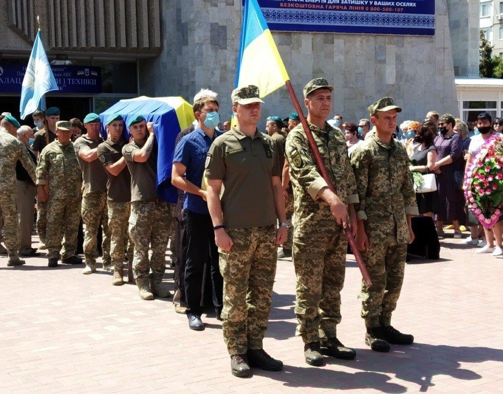 На Николаевщине простились с 18-летнем бойцом, который погиб на Донбассе, - ФОТО, фото-1