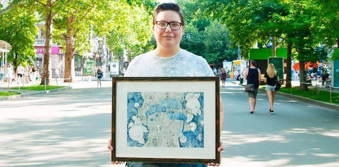 Картина николаевской художницы стала частью проекта #Иммунитет, - ФОТО, фото-1